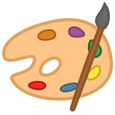 Paint Palette Clipart Kid