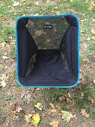 Big Agnes Helinox Chair One Camp Chair by Helinox Chair One Reviews Trailspace Com