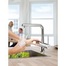 grohe blue einhebelmischer küchen armatur wasserhahn mit
