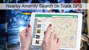 100 Nearby Truck Stop Features Of GPS Navigation System For S Ing Lane