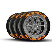 100 Hankook Truck Tires Tire Lettering Performance Tire Decals TIREGRAFICX
