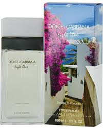 Find the Best Fall Savings on D & G Light Blue Escape To Panarea