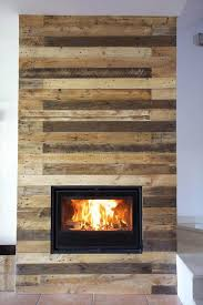 The Pallet Wall Has Been Stained In Brown And Light Grayish Stain To Make Look More Intimating With Its Rustic Traditional Touch Around