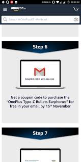 Pre-Book OnePlus 6T:Get Free Type C Earphone+Rs.500 Amazon Pay ... How To Use Amazon Social Media Promo Codes Diaper Deals July 2018 Coupon Toyota Part World Kindle Book Coupon Amazon Cupcake Coupons Ronto Stocking Stuffer Alert Bullet Journal With Numbered Pages Discount Your Ebook On Book Cave Edit Or Delete A Promotional Code Discount Access Code Reduc Huda Beauty To Create And Discounts On Etsy Ebay And 5 Chase 125 Dollars 10 Off Textbooks Purchase Southern Savers Rare Books5 Off 15 Purchase 30 Savings