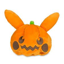 Pikachu Halloween Stencil by Pikachu Pumpkin Plush Hat Pokémon Center Original