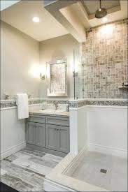 gray wood tile bathroom homefield