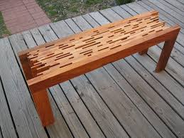 diy slatted bench Google Search furniture Pinterest