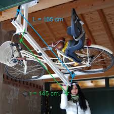 Racor Ceiling Storage Lift Canada by Diy Ceiling Bike Rack For Garage Ceilings Storage And Garage