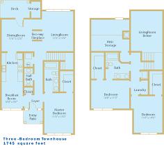 100 Attic Apartment Floor Plans Montgomery S Vaughn Lakes S