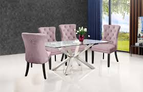 Meridian Furniture, 740Pink-C, Dining Room Chairs, Meridian ... Oxford Velvet Side Chair Pink Set Of 2 Us 353 17 Off1 Set Vintage Table Chairs For Dolls Fniture Ding Sets Toys Girl Kid Dollin Accsories From Glass Pressed Argos Green Dressing Raymour Exciting Navy Blue Pating Dark Stock Photo Edit Now Settee Near Black At In Flat Zuo Modern Merritt 1080 Living Room Ideas Designs Trends Pictures And Inspiration Shabby Chic White Extendable Ding Table With 6 Pink Floral Chairs In Middleton West Yorkshire Gumtree Painted Metro Room 4pcs Stretch Covers Seat Protector