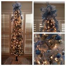 9 Ft Flocked Pencil Christmas Tree by 9ft Pencil Christmas Tree Holidays Pinterest Pencil