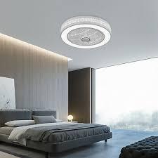 led unsichtbar decken ventilator le fernbedienung
