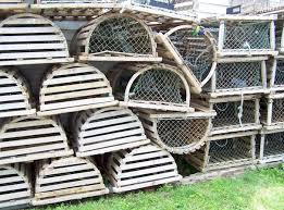 lobster traps and buoys available from the palabra shop
