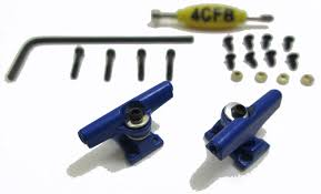 Buy 4CFB Professional Style Fingerboard Trucks With Allen Key / 29mm ...