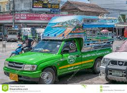 100 Pick Up Truck Song Thaew Minibus Editorial Image Image Of Fare Ride 87852035