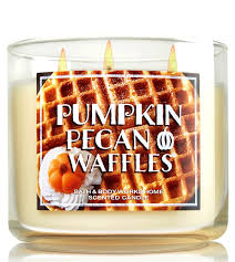 Pumpkin Pecan Waffle Candle Bath And Body by Bath U0026 Body Works Pumpkin Pecan Waffles Scented Candle 3 Wick