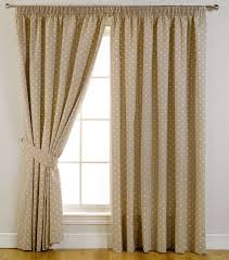 Cream Spotted Blackout Curtains Target For Windows Covering Ideas