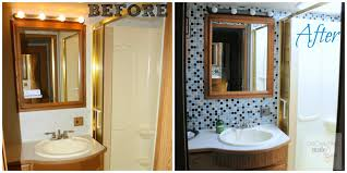 Before And After Of RV Motorhome Bathroom Transformation OrganizingMadeFun