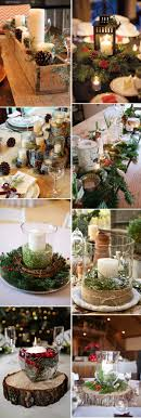 60 Wonderful Ideas For A Cozy And Fancy Winter Wedding Christmas Centerpieces
