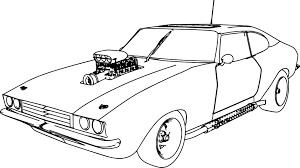 Coloring Pages Old Car Breadedcat Free Printable And