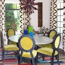 Inspiration For An Eclectic Dining Room Remodel In Atlanta With Beige Walls