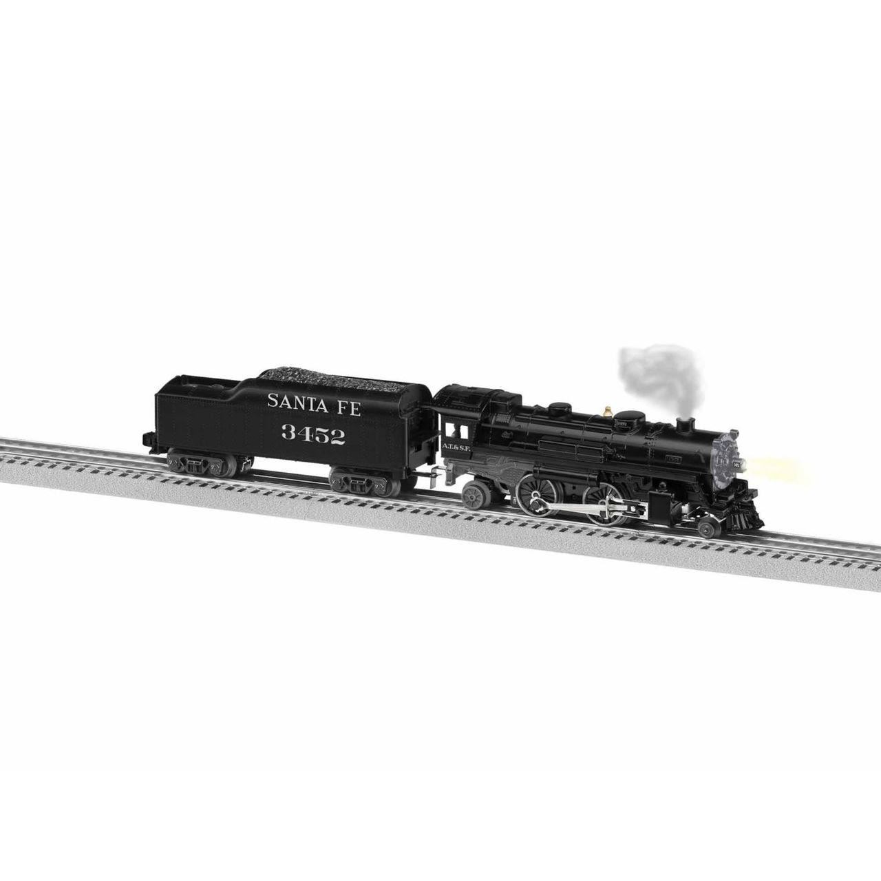 Lionel O #1932140 LionChief Santa Fe 2-4-2 Steam Loco