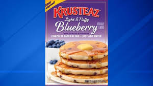 Krusteaz Pumpkin Pancake Mix Ingredients by Blueberry Pancake Mix Recalled For Possible E Coli Contamination