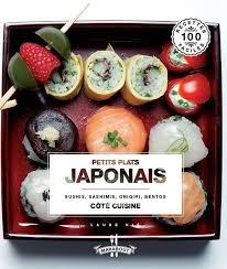 livre cuisine japonaise petits plats japonais cuisine japonaise sushi sashimi maki