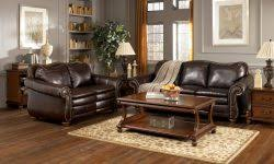 living room decorating ideas dark brown leather sofa leather sofa