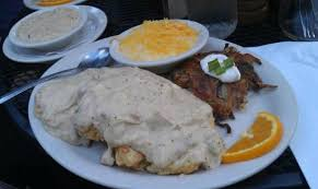 biscuits and gravy picture of tin shed cafe portland tripadvisor