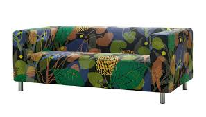 ikea klippan skatelöv sofa cover klippan sofa cover colorful