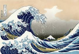 Katsushika Hokusais The Great Wave Off Kanagawa Gracefully Distills Power Of Ocean Into A Two Dimensional Image Thats As Deceptively Simple