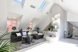 wohnzimmer einrichtung ideen raum mit dachschräge