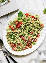 Go Raw Pumpkin Seeds Green by Zucchini Noodles With Basil Pesto Cookie And Kate