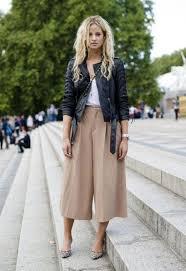 tendance comment porter la jupe culotte sans avoir un look