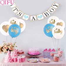 Detail Feedback Questions About QIFU 10pcs Its A Boy Baby Shower