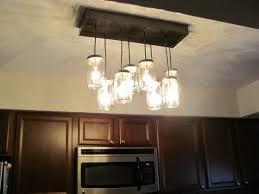 outstanding diy jar chandelier track lighting pendant