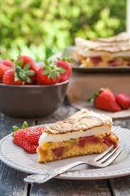 rezept saftiger erdbeer rhabarber kuchen ohne butter mit