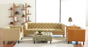Plummers Furniture Contemporary Living Room San Francisco