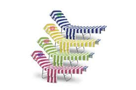 Terry Cloth Lounge Chair Cushion Covers by Lounge Chair Covers