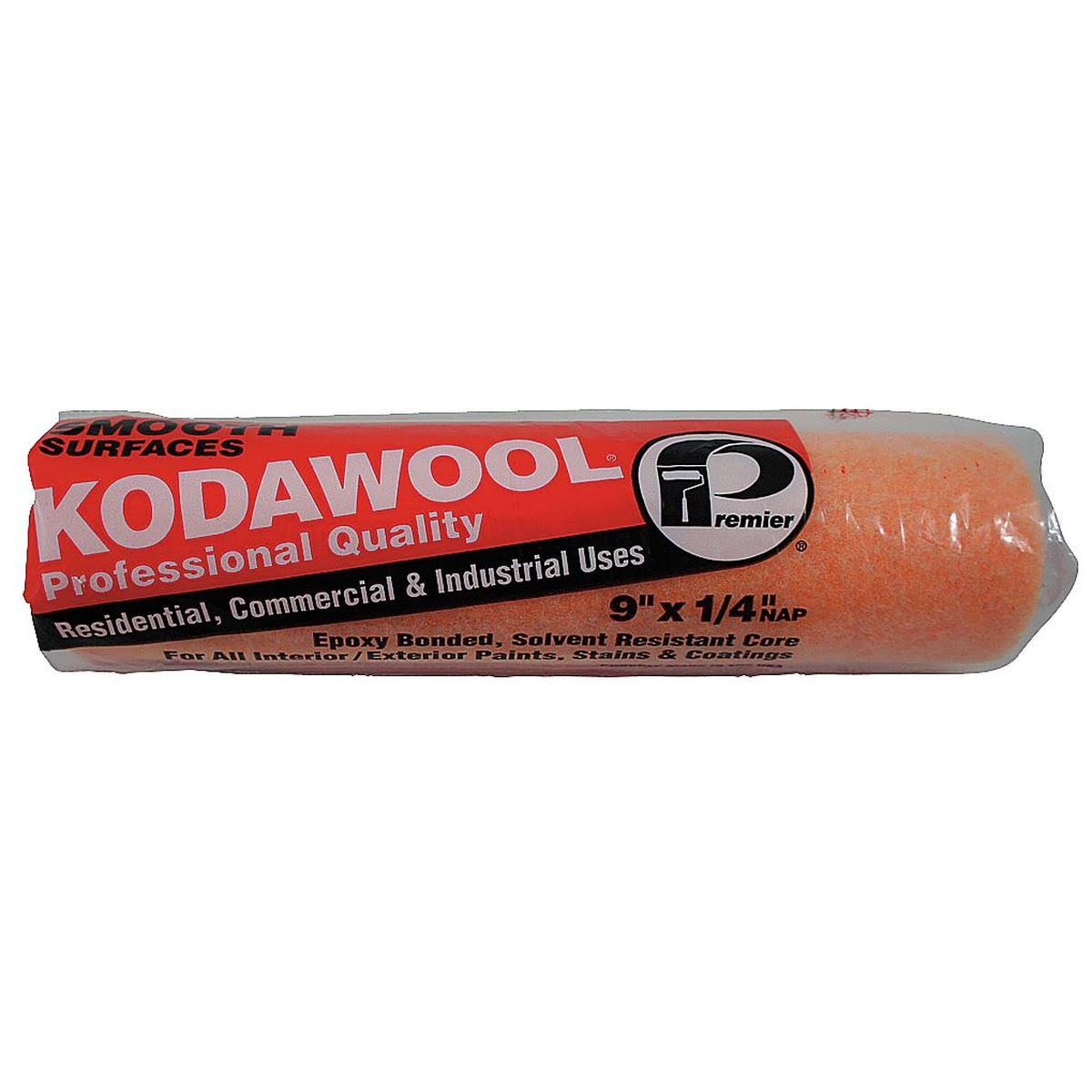 "Kodawool High Density Synthetic Blend Paint Roller Cover - 9"" x 1/4"""
