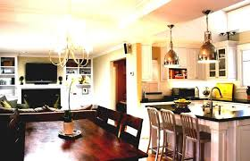 Townhouse Dining Room Ideas Open Plan Kitchen Divider