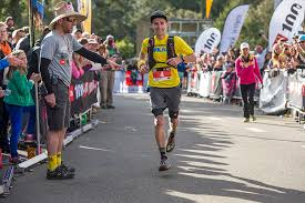 Scott Hawker Finishing Second In The 2015 North Face 100 Blue Mountains Australia