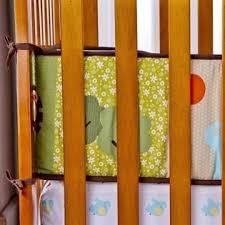 Dream Me Safari Animals Portable Crib Bumper