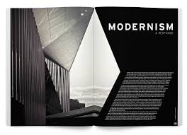 100 Modern Architecture Magazine Editorial Design Page Layout Design