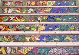 16th Avenue Tiled Steps In San Francisco by Aileen Barr Gallery 16th Avenue Tiled Steps