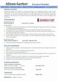 Pre K Teacher Resume Kindergarten Examples Rh Ambfaizelismail Com Preschool Assistant