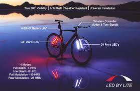 Sol 48 LED bike light strips product information
