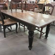 Rustic Farmhouse Dining Table 84