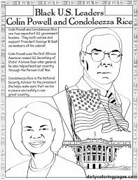 African American Contributor Coloring Page